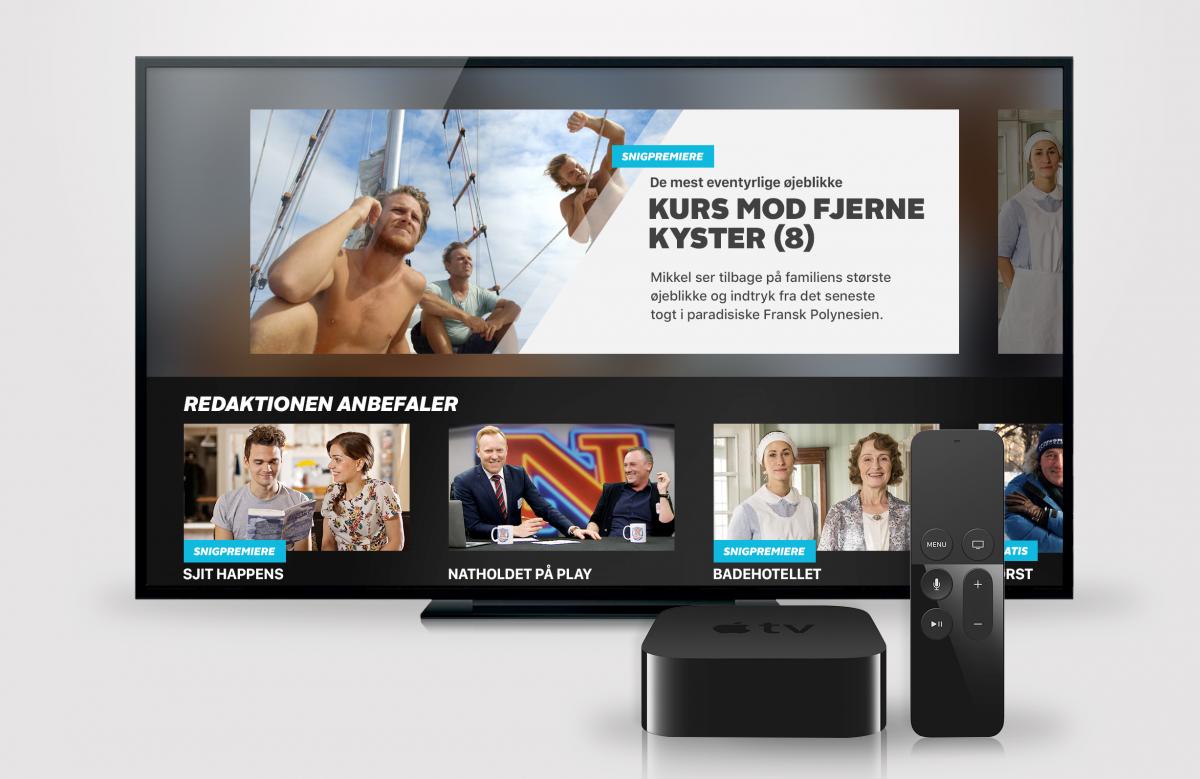 TV 2 PLAY på Apple TV (Foto: TV 2 Danmark)
