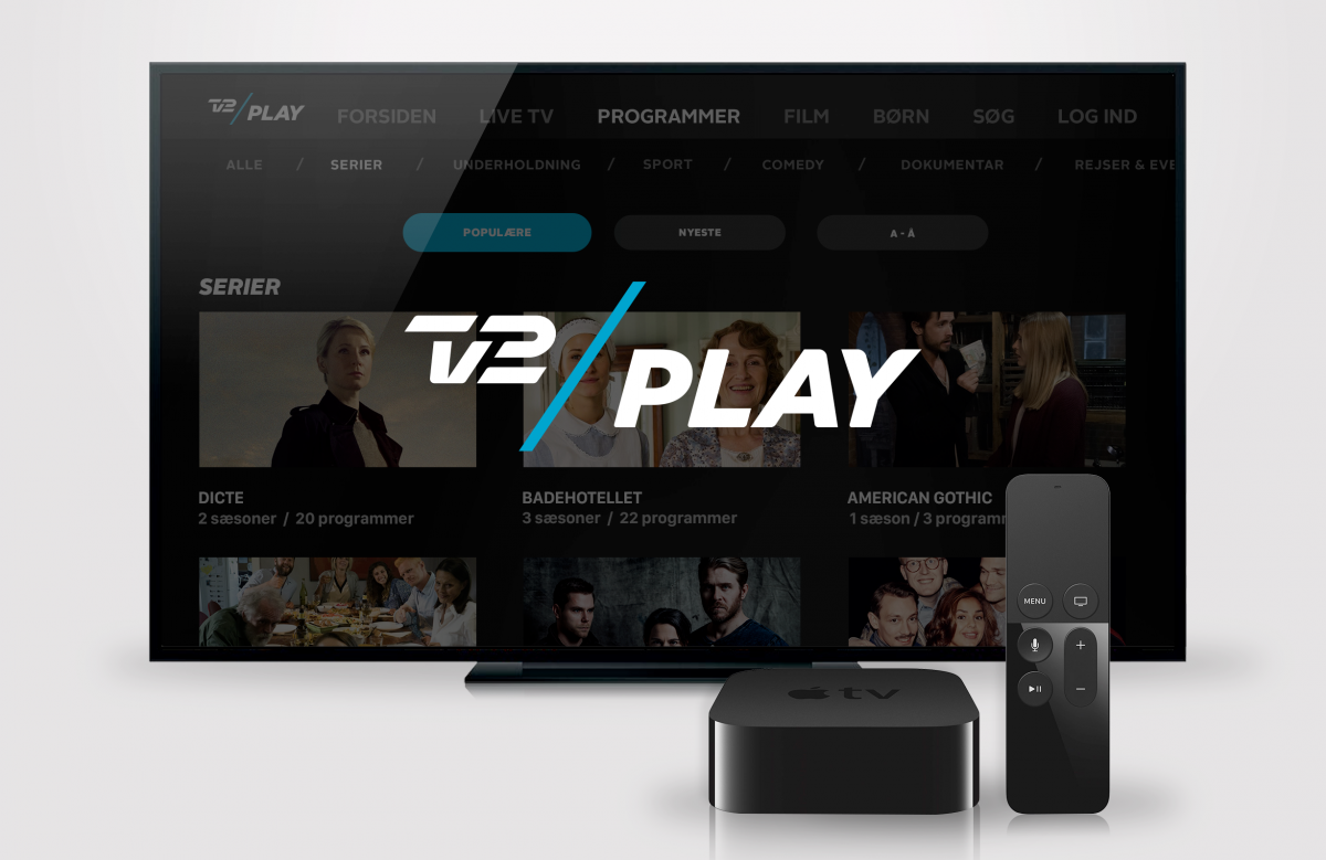 TV 2 PLAY på Apple TV (Foto: TV 2 Danmark)