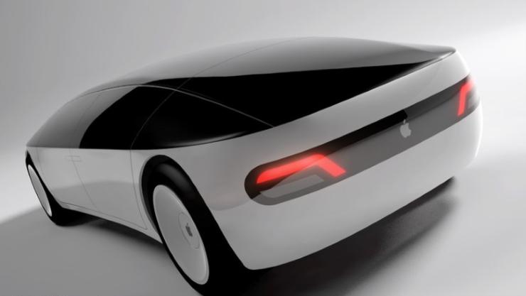 En af de mange koncepttegninger af en evt. Apple-vil, man kan finde på nettet. Denne er designet af Meni Tsirbas.