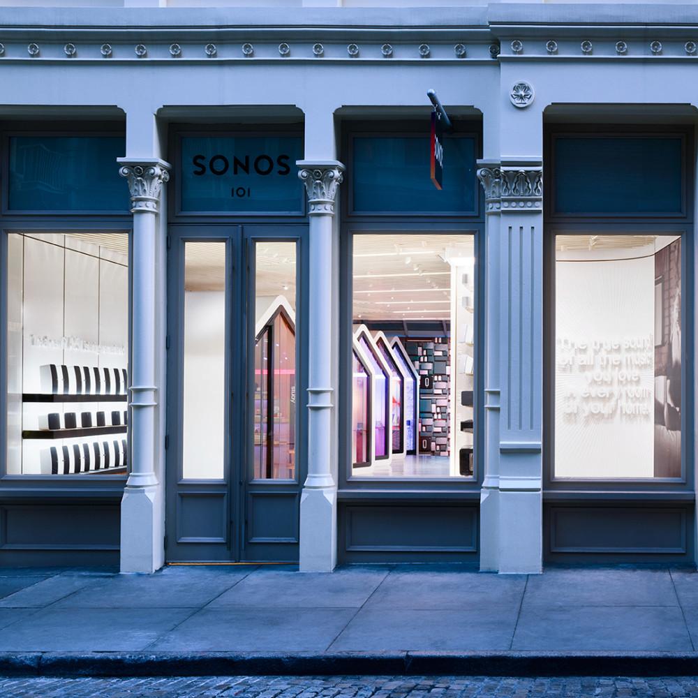 Sonos Store. Foto: Sonos