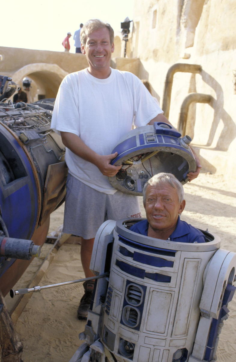 Kenny Baker R2 D2 Star Wars