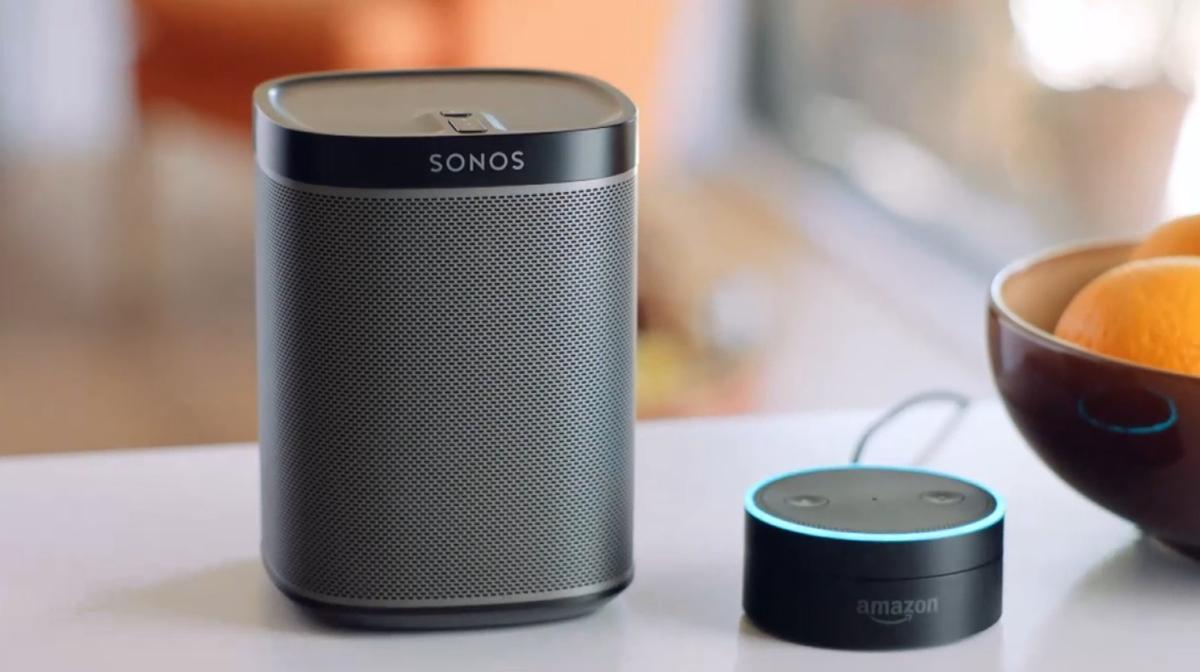Screenshot fra Sonos præsentation