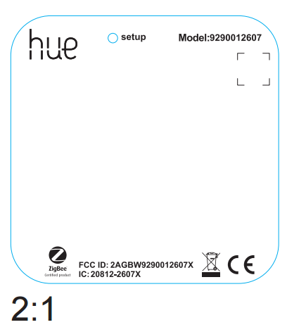 Philips Hue Motion Sensor. Foto: FCC