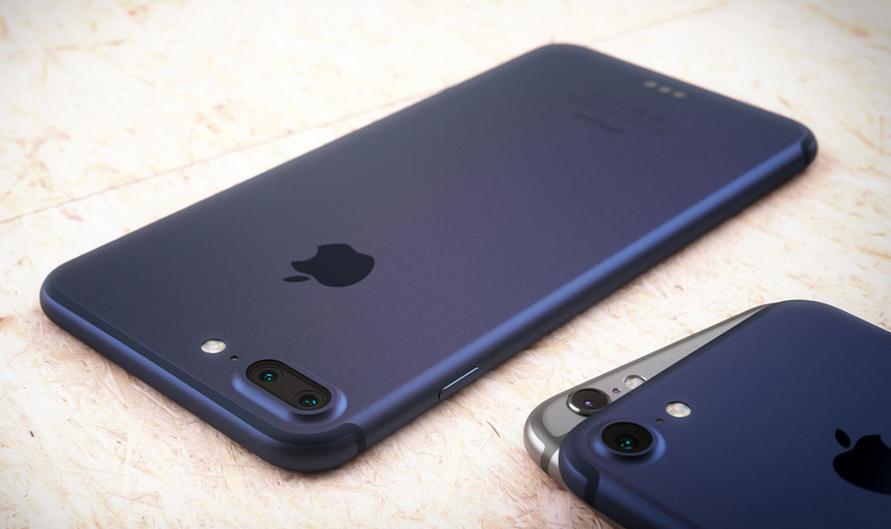 Mock-up af de to nye, forventede iPhone-modeller af designeren Martin Hajek.