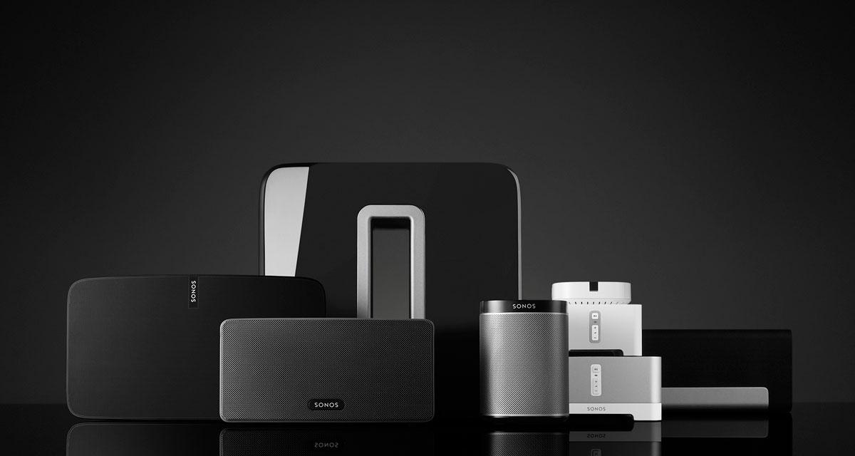 Sonos familien (foto: Sonos)