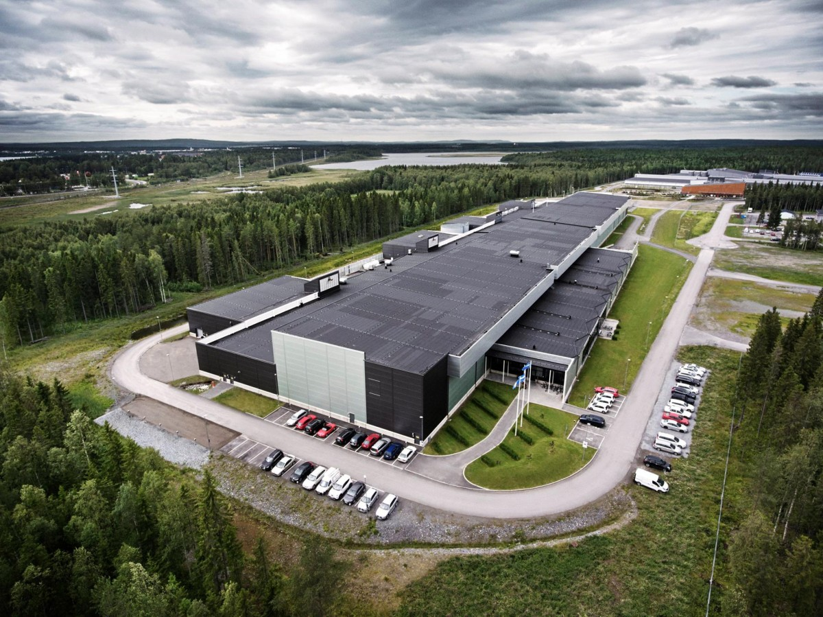 Facebook Datacenter i Luleå (Foto: Facebook)