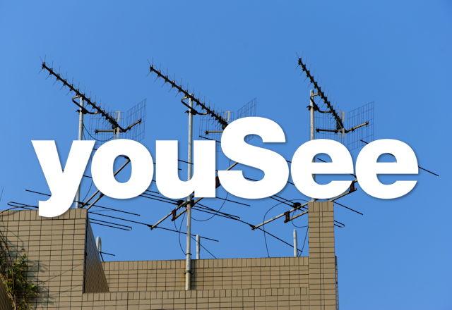 YouSee Selvhenter TV. Foto: Shutterstock.com. Illustration: recordere.dk