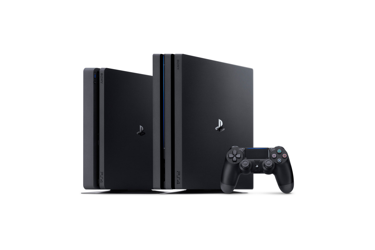 Sony PlayStation 4 Pro og PS4 Slim