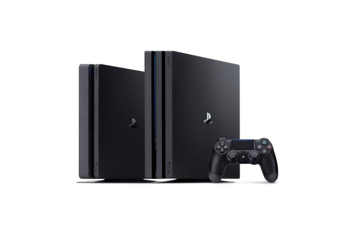 Sony PlayStation 4 Pro og PS4 Slim