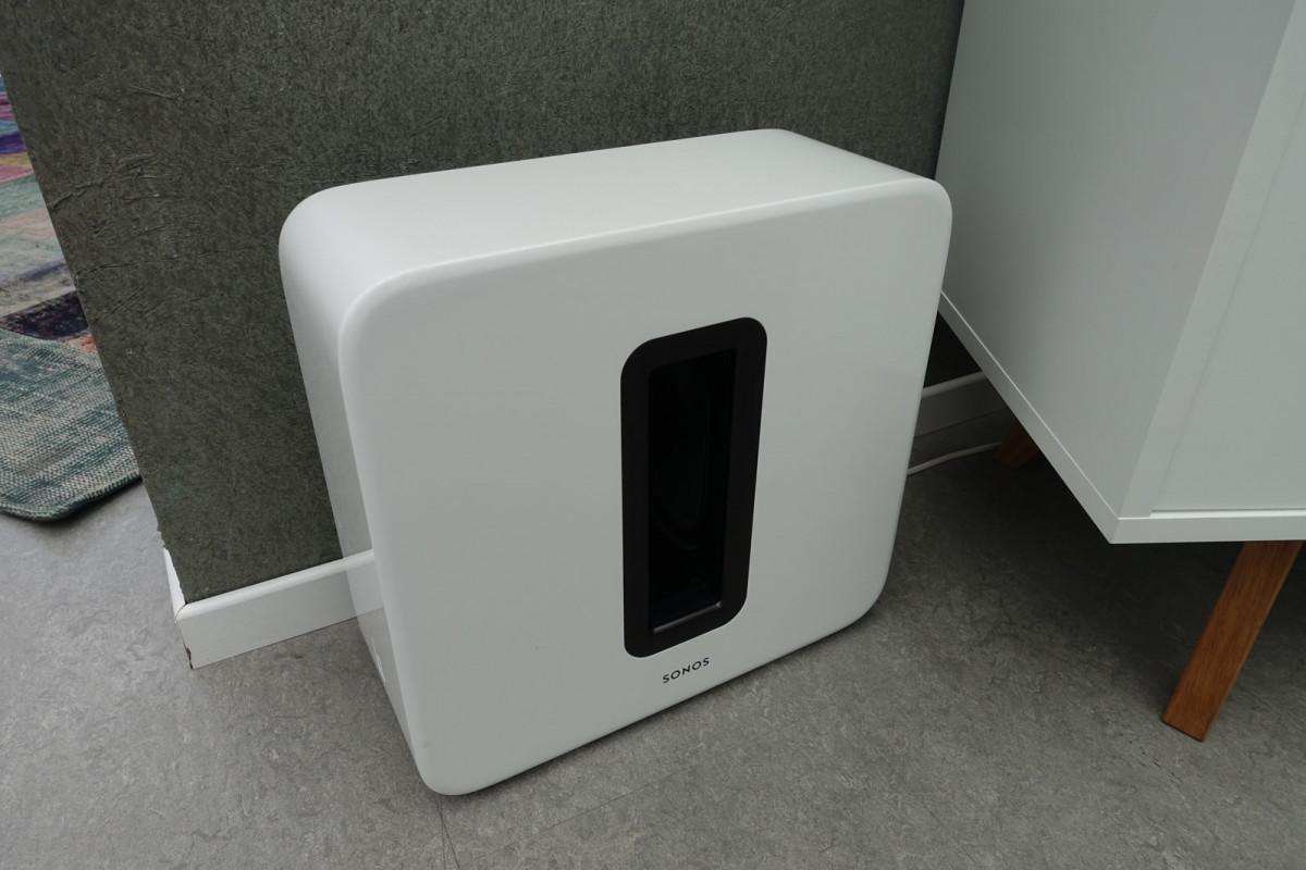 Sonos SUB i Hvid (foto: recordere.dk)