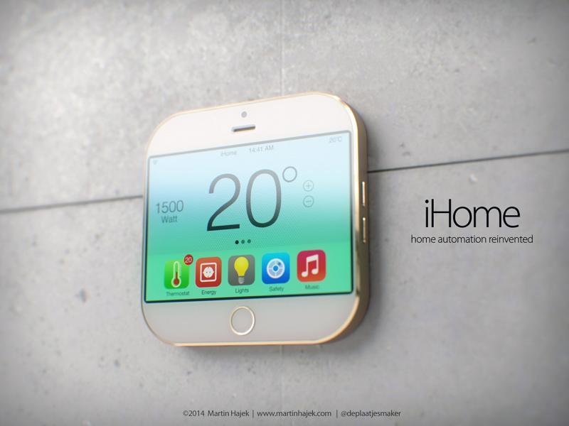 iHome konceptbillede fra 2014 af designer Martin Hayek