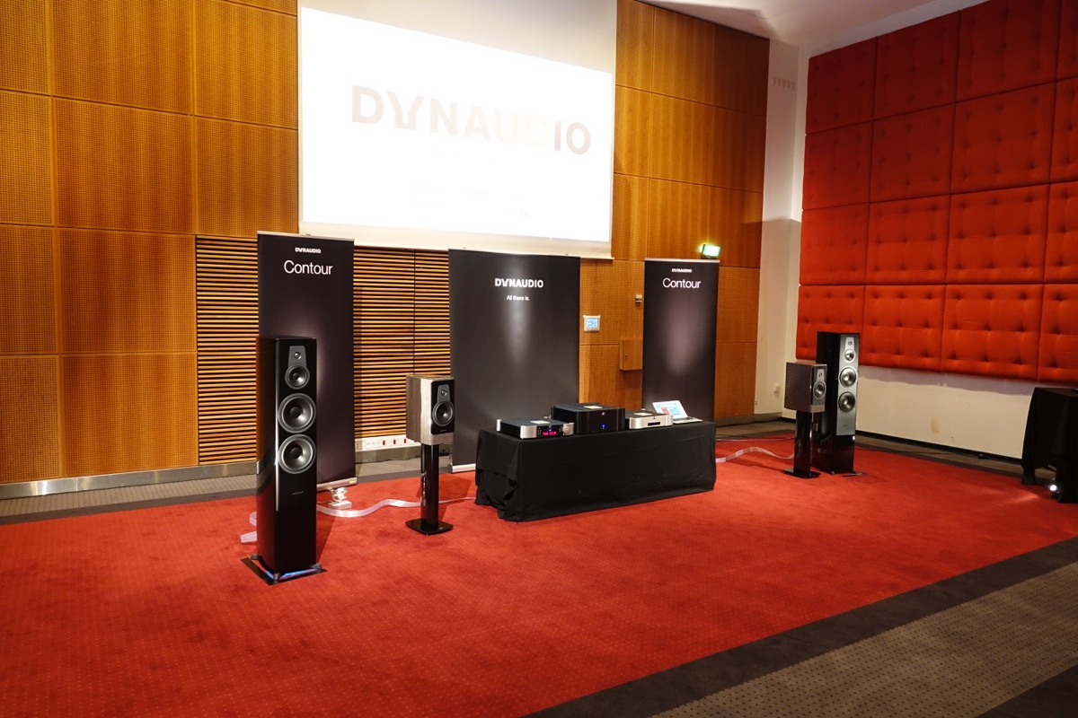 Contour hos Dynaudio. Hifi & Surround 2016