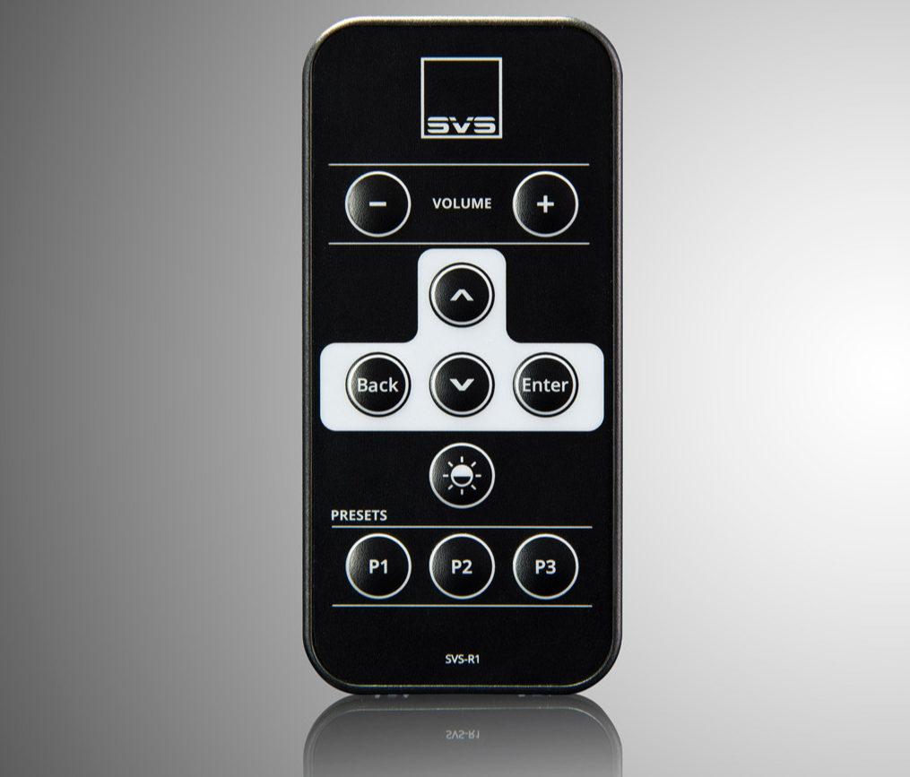SVS SB16 Ultra og PB16 Ultra remote app