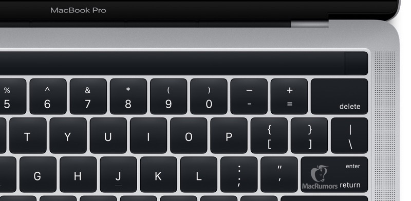 Ny Macbook Pro. Foto: Apple via MacRumors