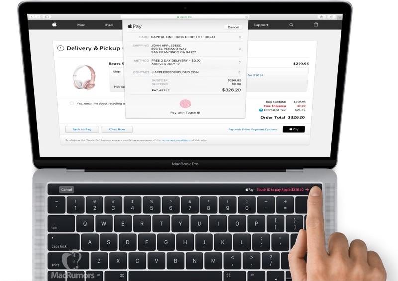 Ny Macbook Pro. Foto: Apple via MacRumors