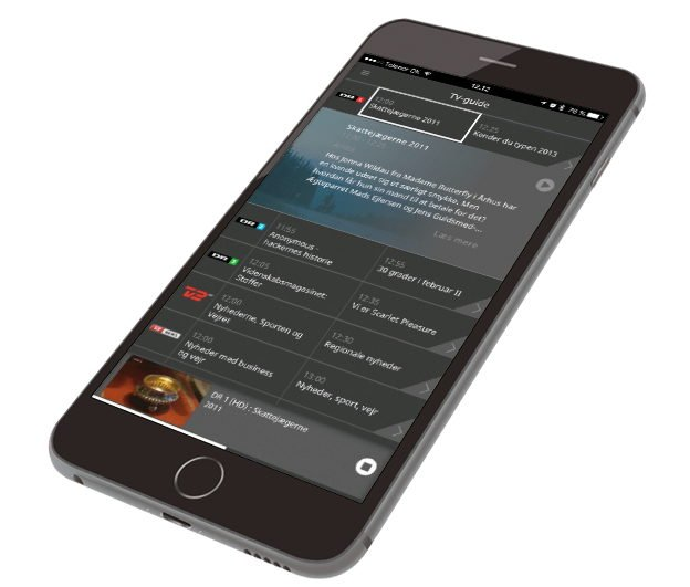 Waoo Web TV iPhone