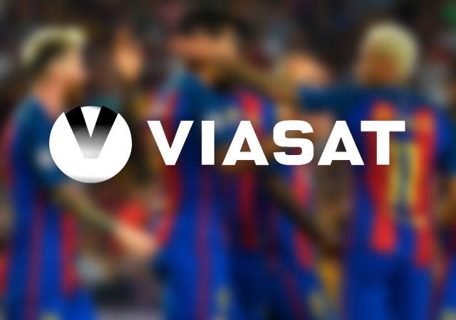 Viasat logo thumbnail stock
