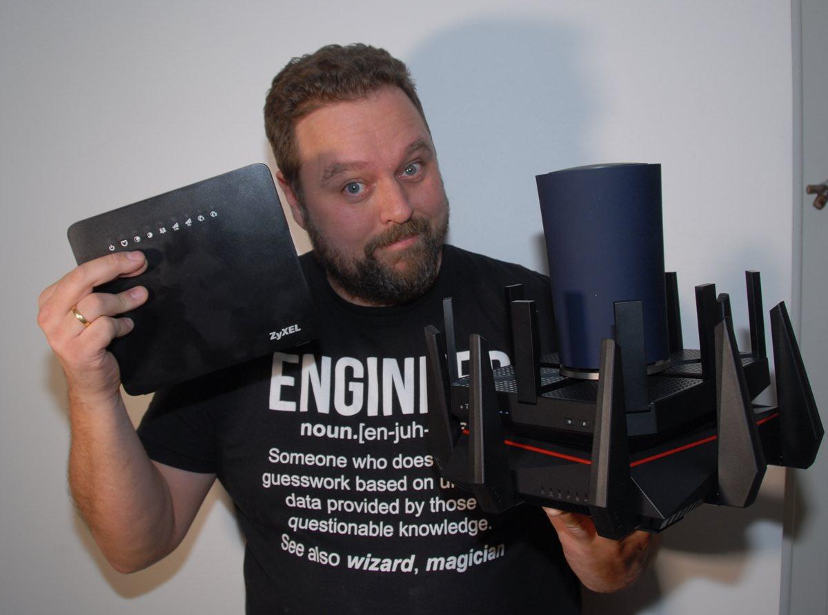 VIDEOSERIE: Hvilken router er bedst til dit hjemme-net - recordere.dk
