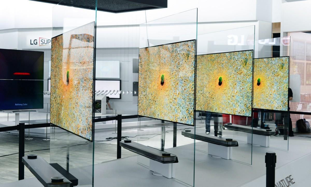 Vandt ces hovedpris: det nye lg wallpaper oled tv, galleri og ...