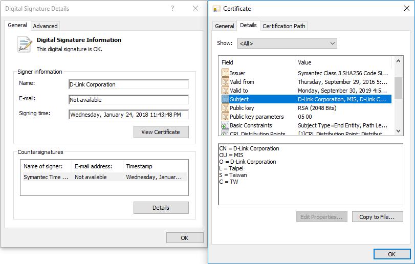Stjålet D-Link certifikat foregav at spion-malware var legitim - recordere.dk