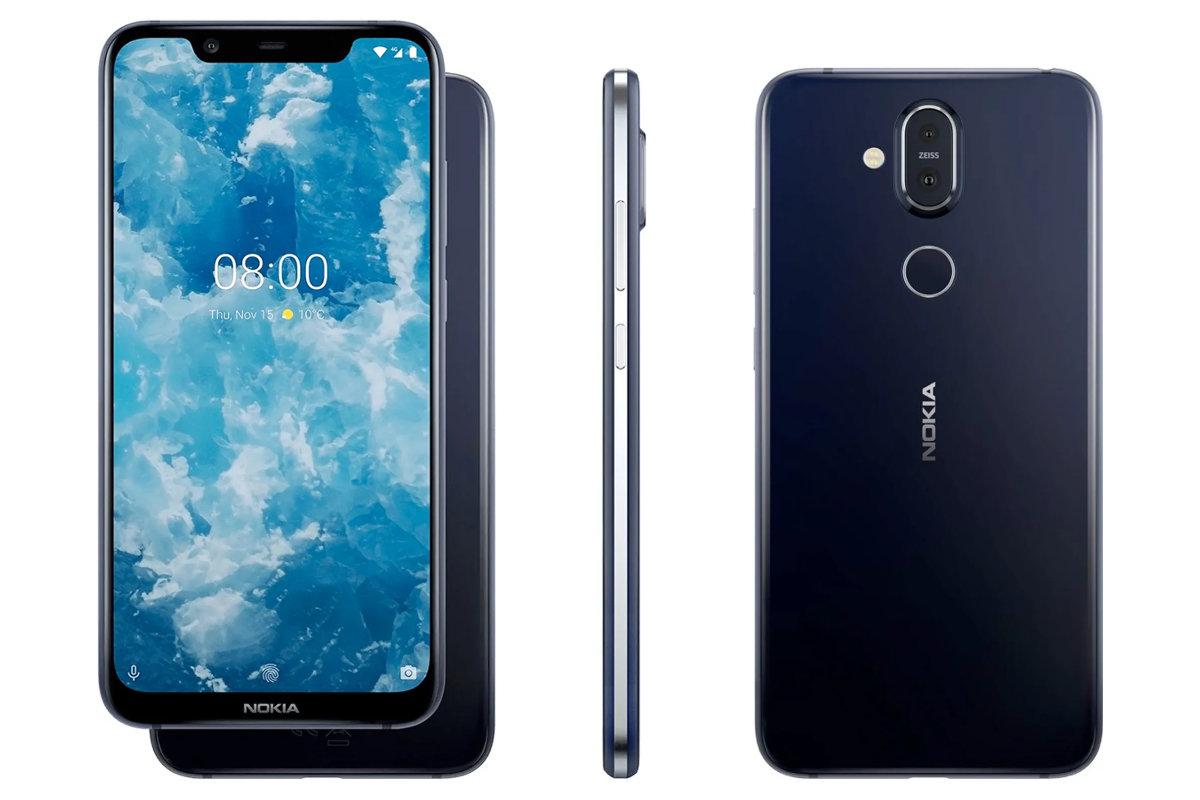 Nokia 8.1 først med Android 10 - recordere.dk