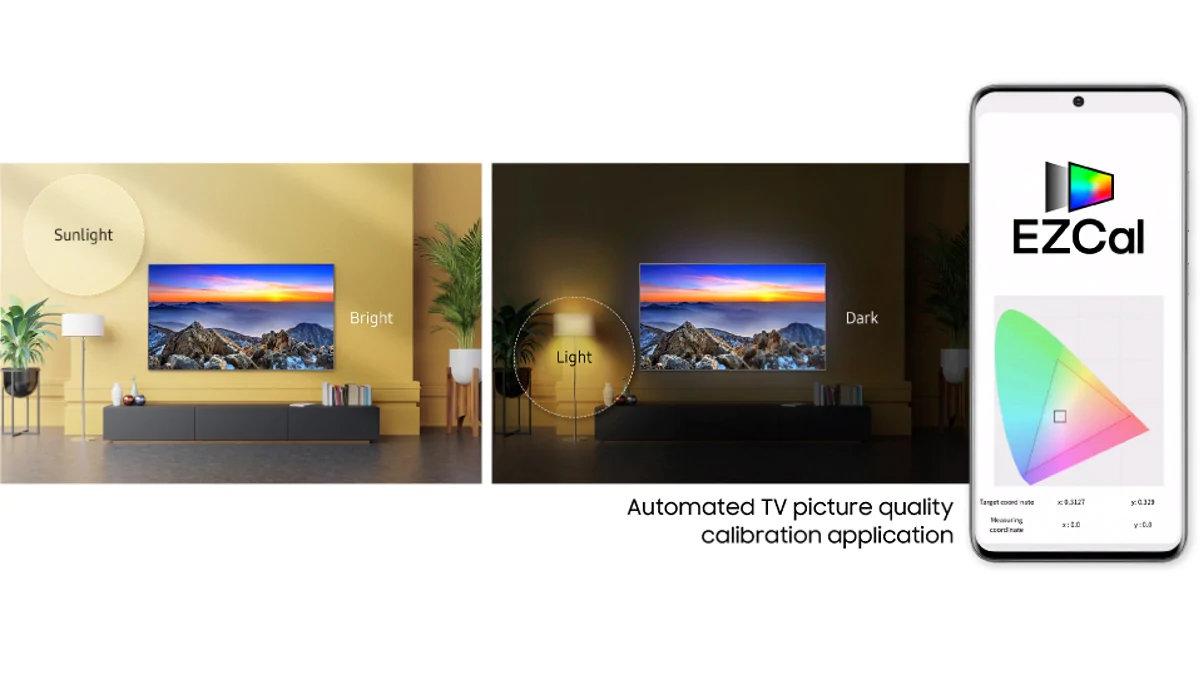Samsung vil lade smartphonen kalibrere TV`et - recordere.dk